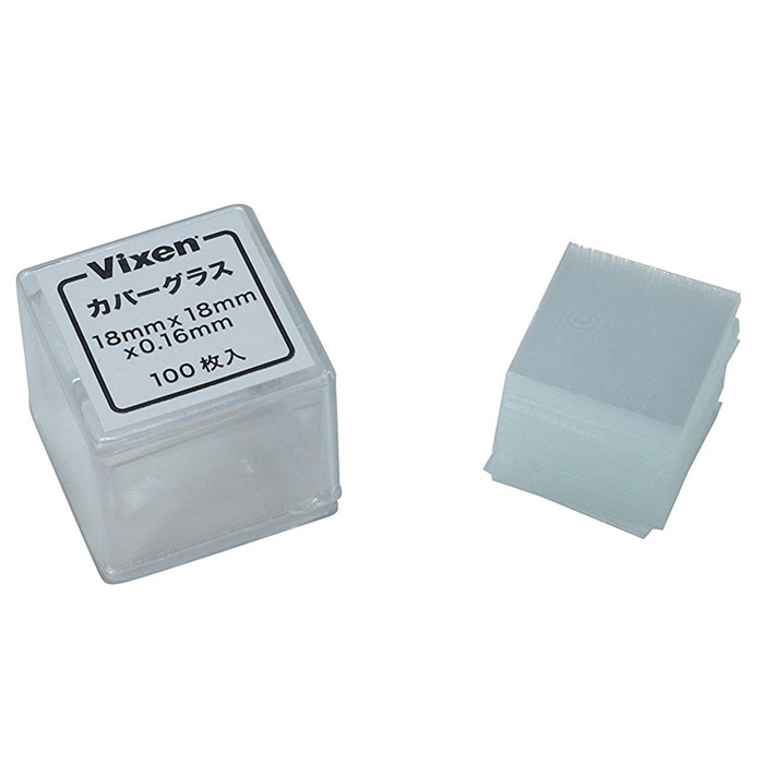 Vixen Microscope Cover Glass Set 100